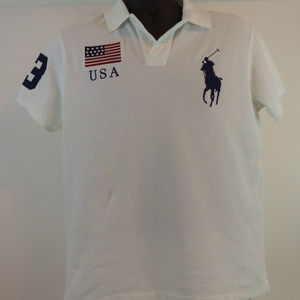 Polo by Ralph Lauren White Polo M CL1242 0719